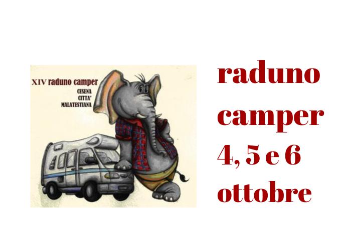 Raduno Camper all'ippodromo