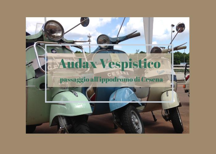 Manifestazione Vespa Club all'ippodromo di Cesena