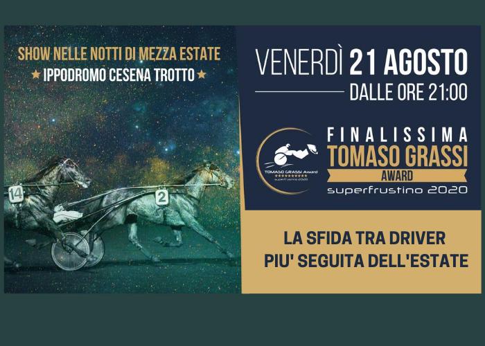 Venerdì 21 agosto, la Finale del Tomaso Grassi Award