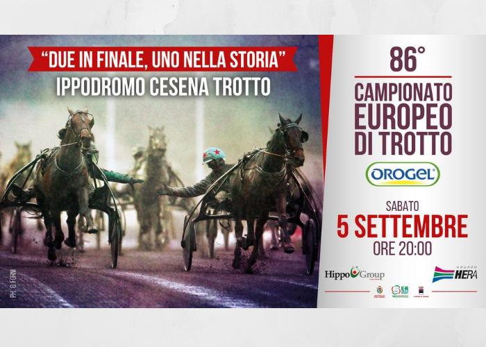 Campionato Europeo di Trotto OROGEL, il programma della serata
