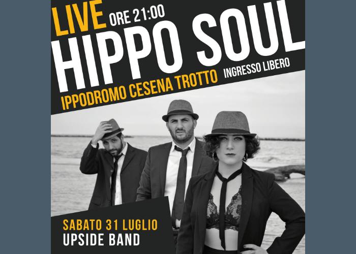 HippoSoul: musica live all'ippodromo, sabato 31 luglio la UPside Band