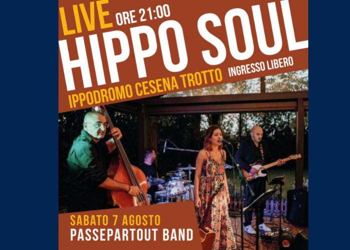 HippoSoul: musica live all'ippodromo, sabato 3 agosto la Passepartout Band